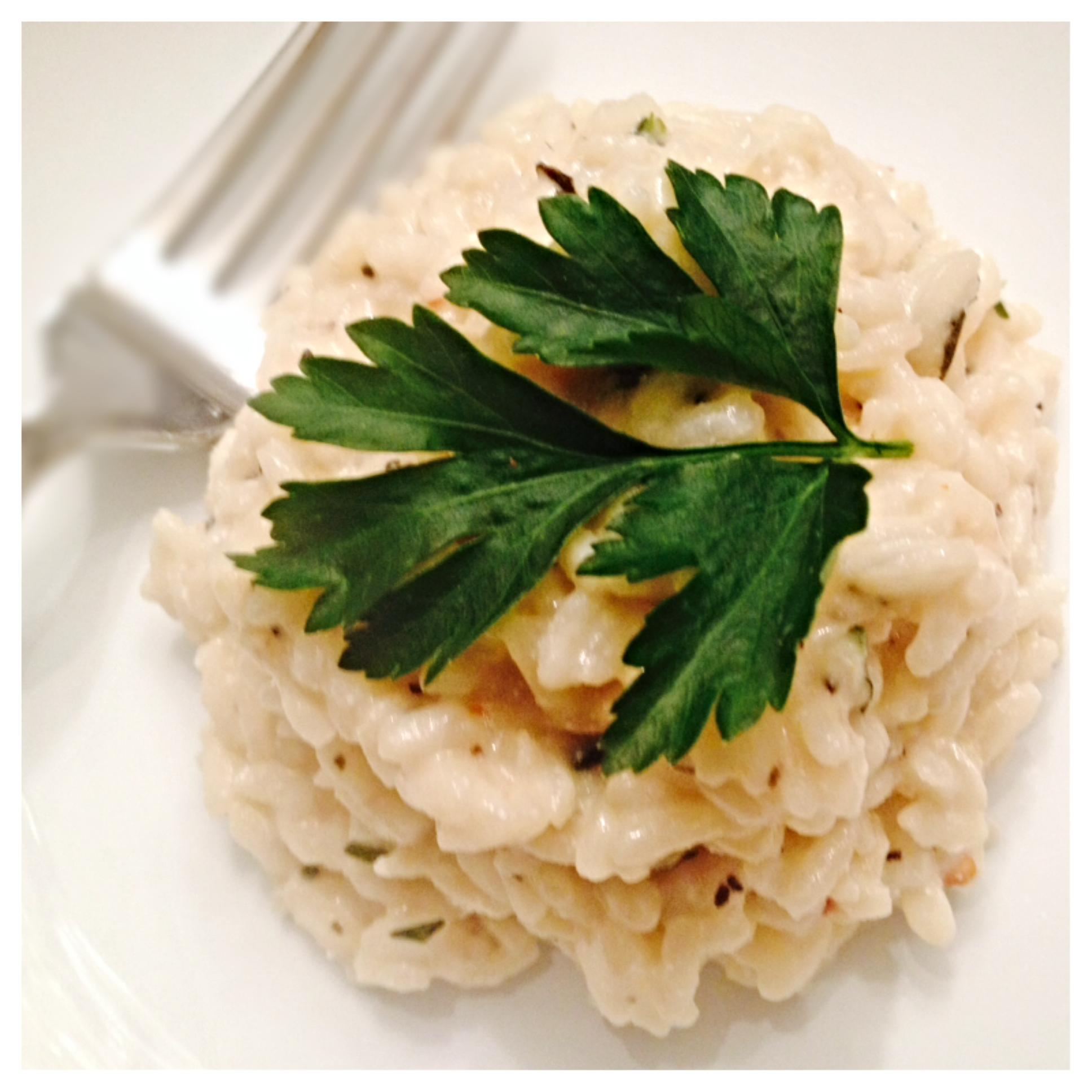 Simply Dinner – Lemon and Thyme Risotto with Ricotta | Swimming In ...